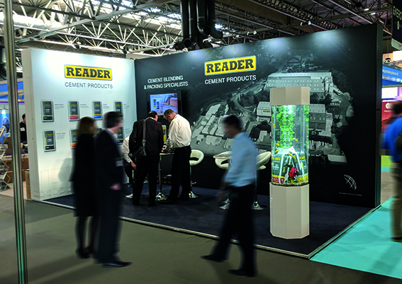 Reader Cement make a splash at UK Construction Week